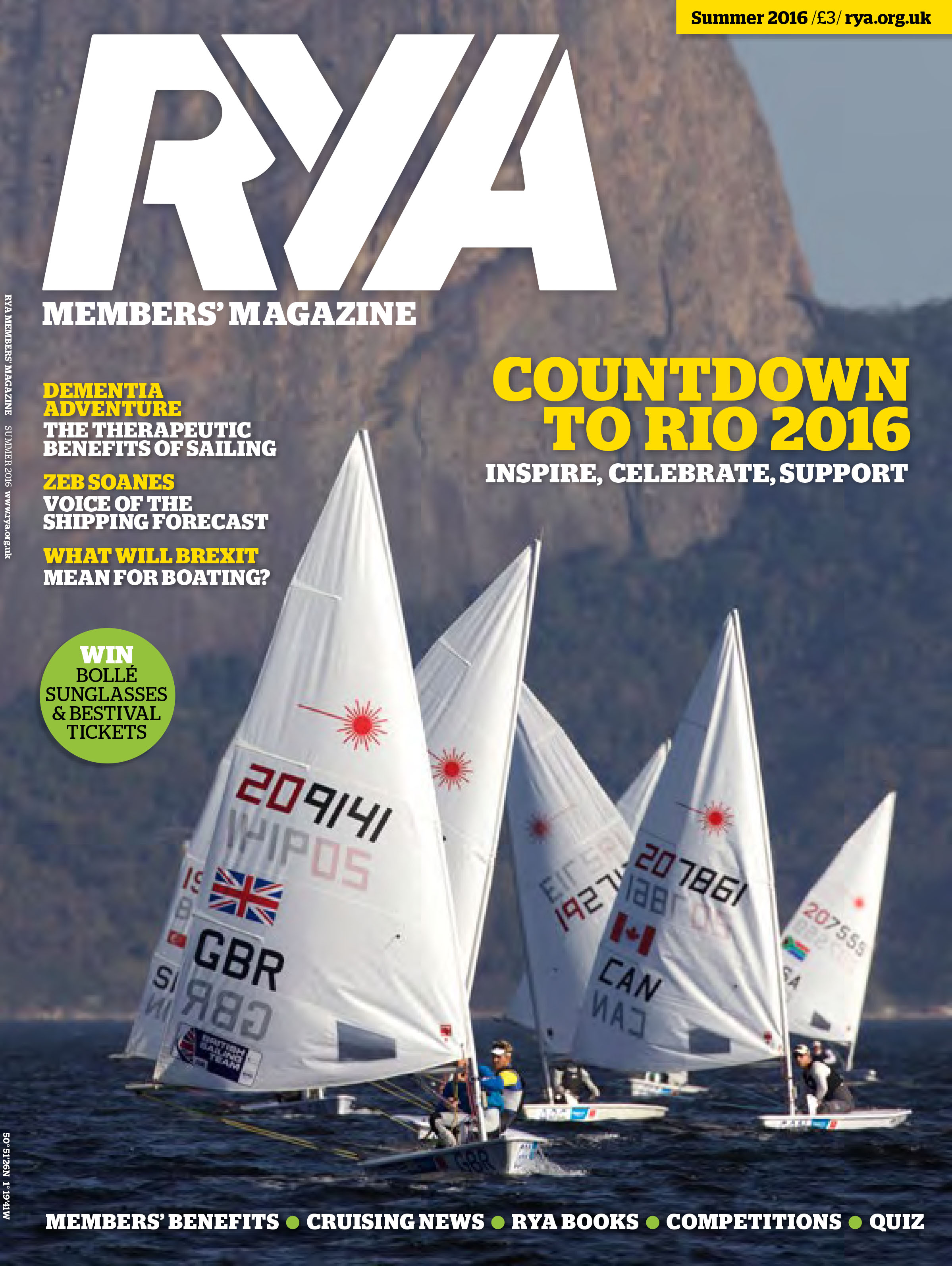 RYA summer 2016 Cover