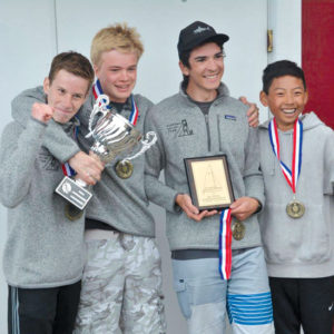 Narrows Race Team Sends Four to H.S. National Sailing Championship