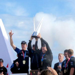 Louis Vuitton – America's Cup Challenger Playoffs – Final Emirates Team New Zealand vs Artemis Racing