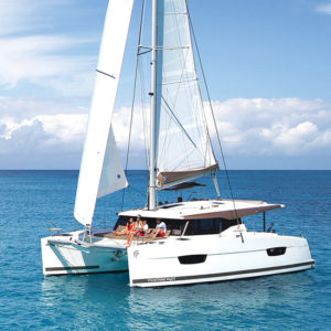 48°N Boat Test: Fountaine Pajot Lucia 40