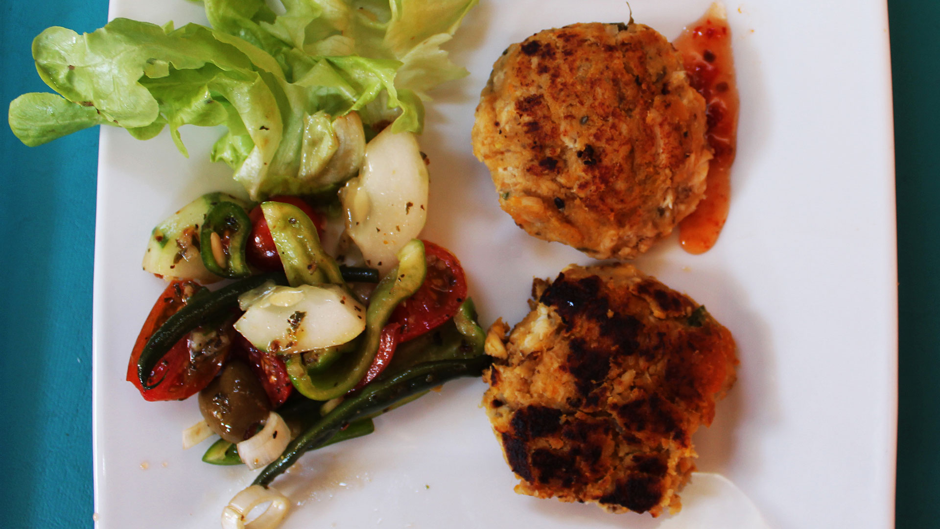 Amanda's Tuna Cakes Described in the Recipe Below