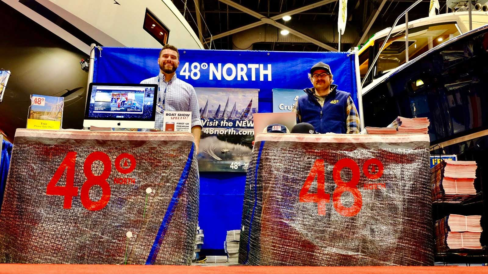 48º North at the Seattle Boat Show