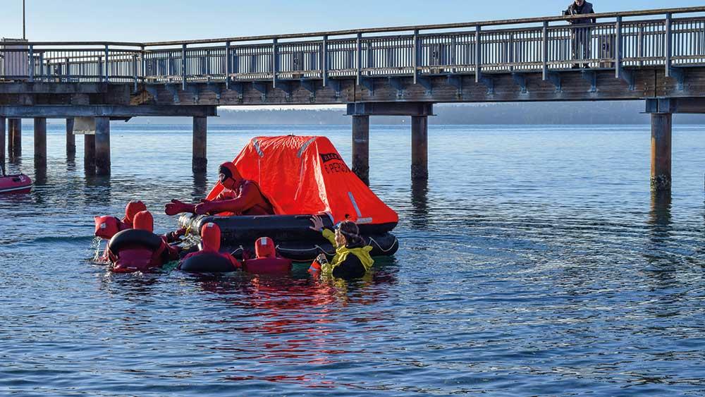 Port Townsend Maritime Acadamy training