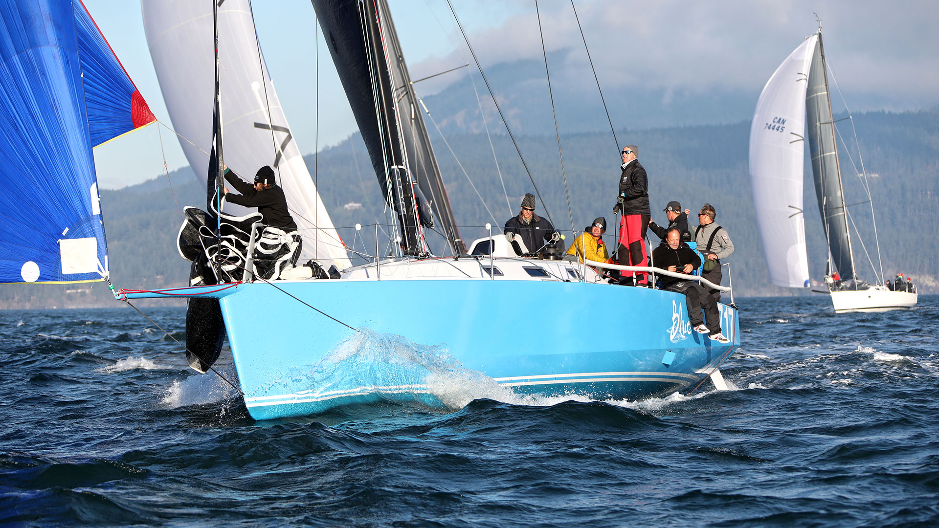 Riptide 41, Blue is headed for Hawaii