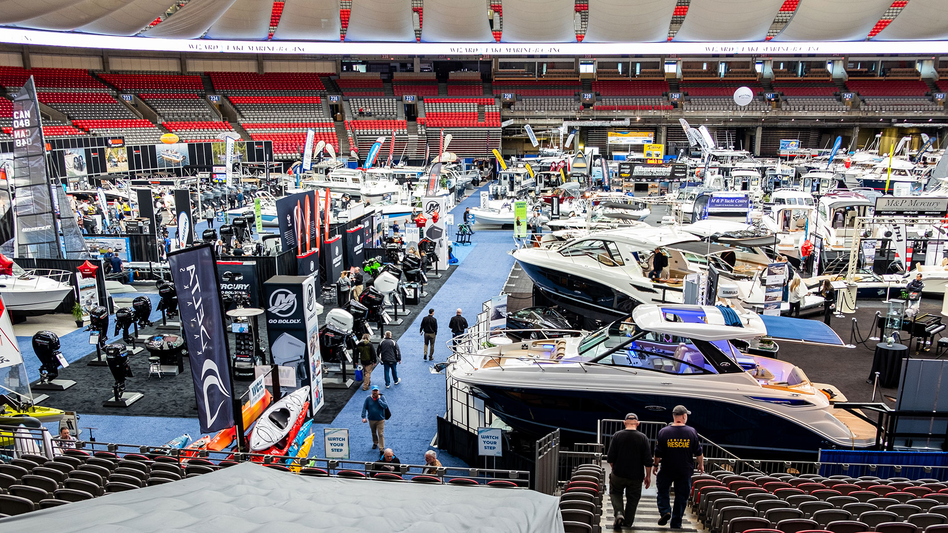 Vancouver Boat Show at BC Place