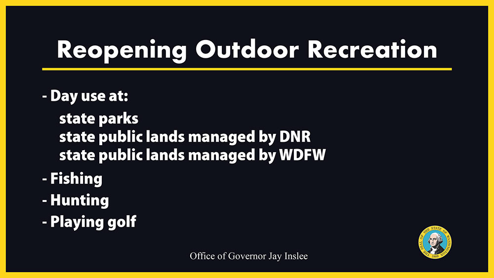Reopening Outdoor Recreation