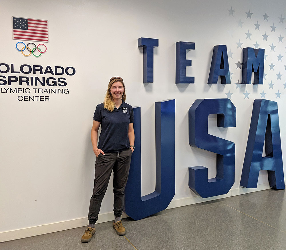 At the US Olympic Center starting a year-long Coaching Certificate Masters Program with the International Olympic Committee and University of Denver in Fall 2019.