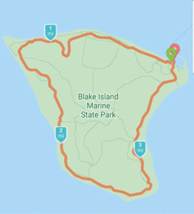 Blake Island loop