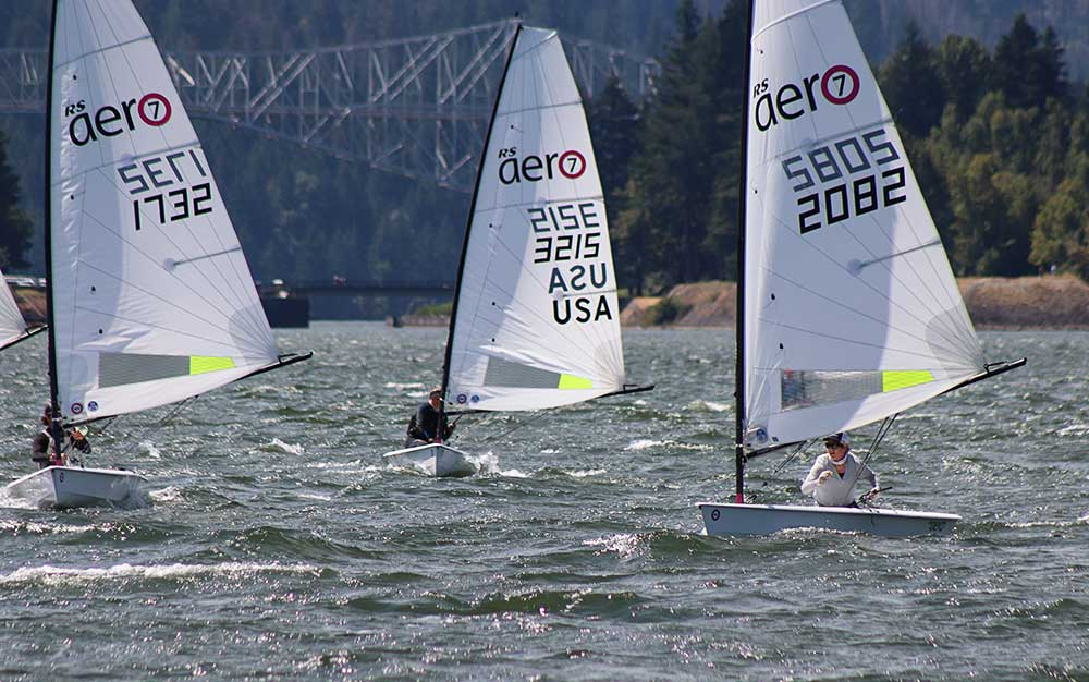 The fleet is full of accomplished sailors, including multiple Olympic medalists. Yet it's still a great fleet for all skill levels.