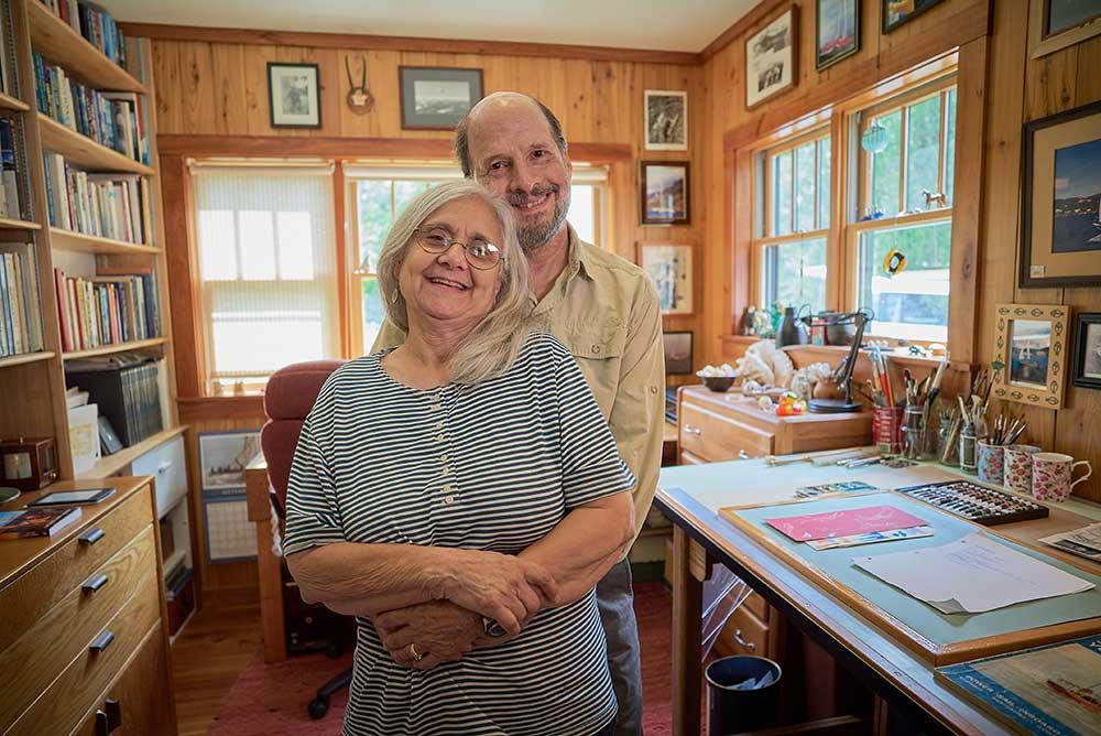 Callahan and his wife, Kathy.